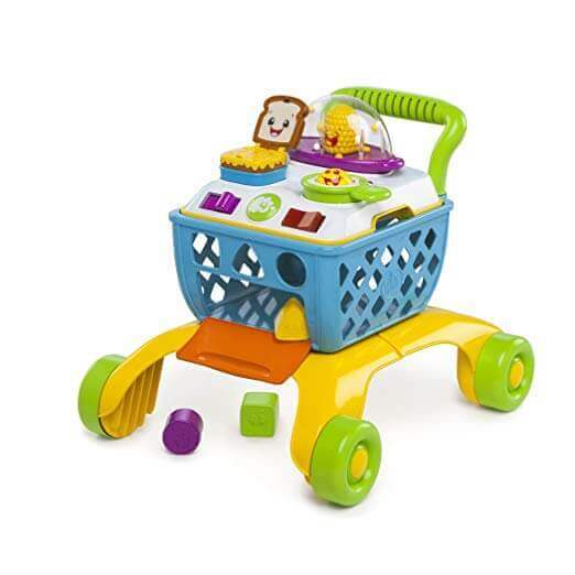 Image of Bright Starts Giggling Walker on white background