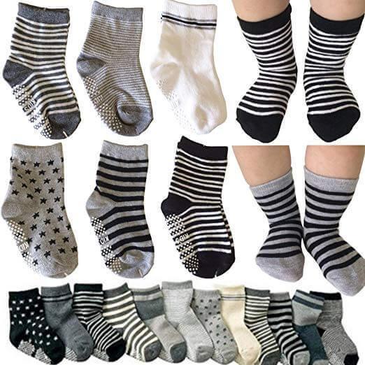 Image of Non-Skid socks by Kakalu on white background