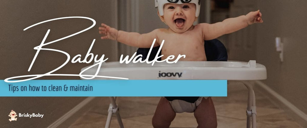 Baby walker cleaning