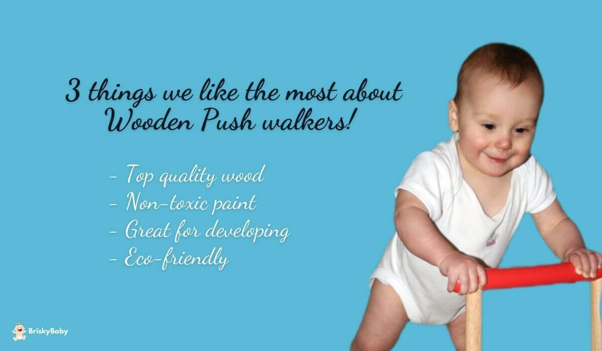 Best wooden baby push walker on the market