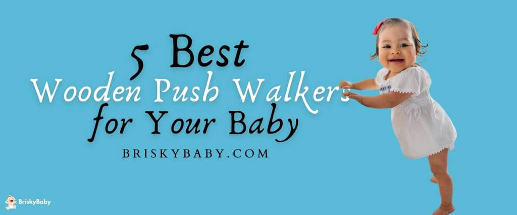 Best wooden push walkers for babies